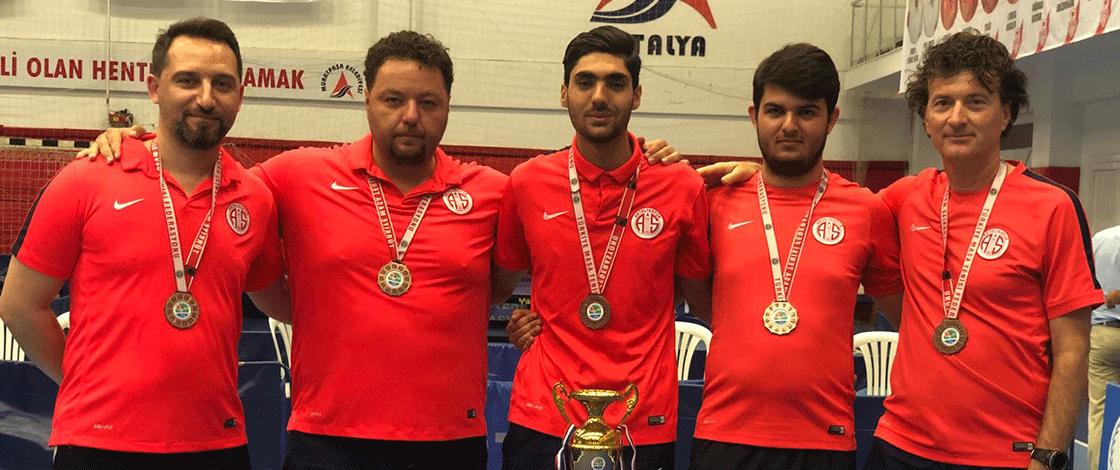 Antalyaspor Ligi Dördüncü Bitirdi