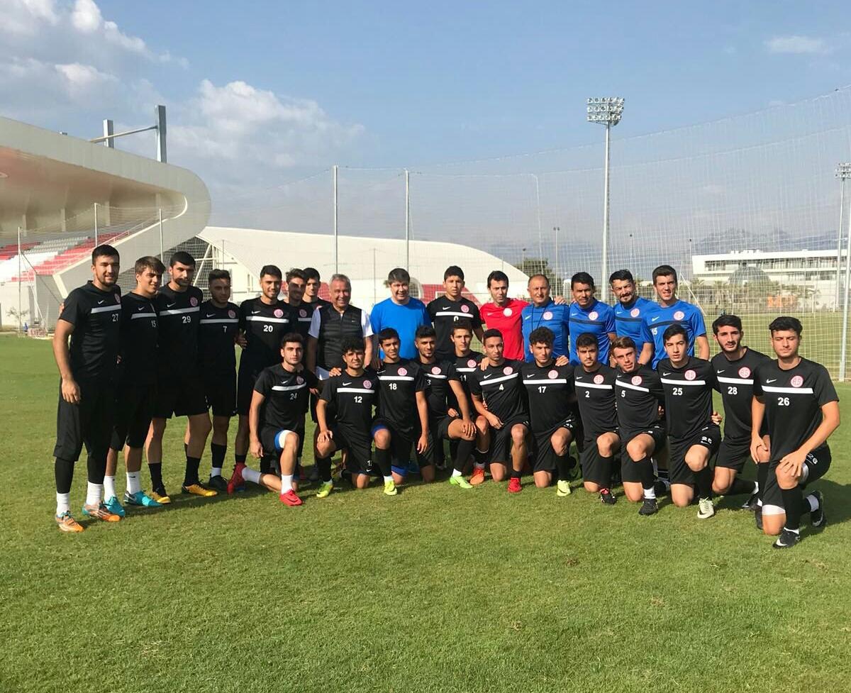Türel'den U21 Oyuncularına Başarılar Dileği