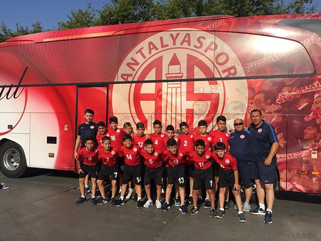 Antalyaspor U12 Takımı Grubu Lider Tamamladı
