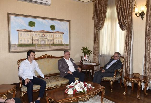 Antalyaspor Yönetiminden Vali Karaloğlu'na Ziyaret