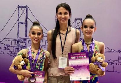 Cimnastikciler İstanbul'da Kazandı