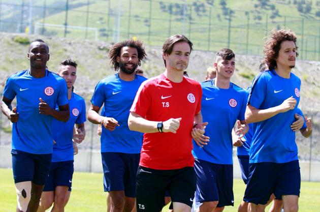 Antalyaspor Dayanıklılık Çalıştı