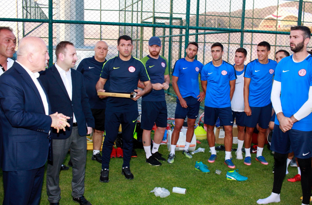 Mehmet Sekmen'den Antalyaspor'a Ziyaret