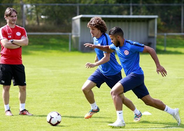 Antalyaspor Hollanda'da Taktik Çalıştı