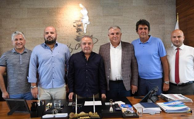 Konyaaltı Belediyesi'nden Antalyaspor'a Destek