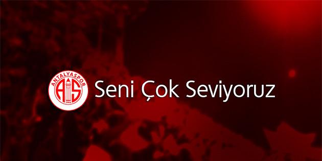 Antalyaspor'un 52. Yılı Kutlu Olsun!