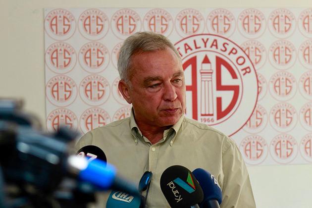 Şefik Öz, Antalyaspor'un Hedeflerini Açıkladı