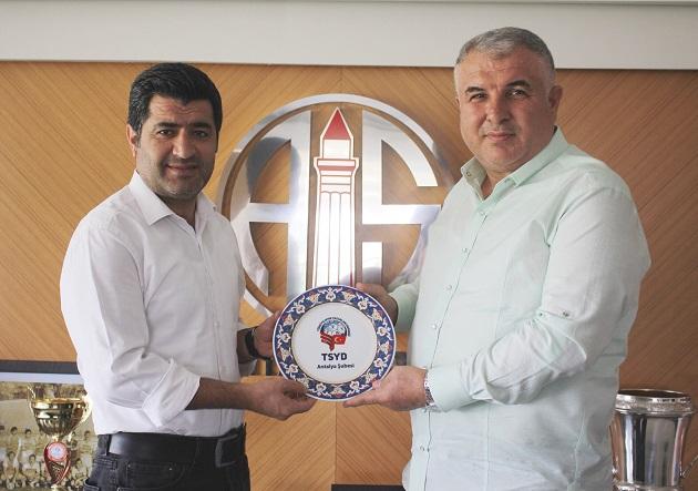 TSYD Antalya Yönetiminden Cihan Bulut'a Ziyaret