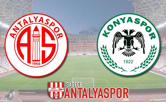 Antalyaspor – Atiker Konyaspor (MAÇ KADROSU)