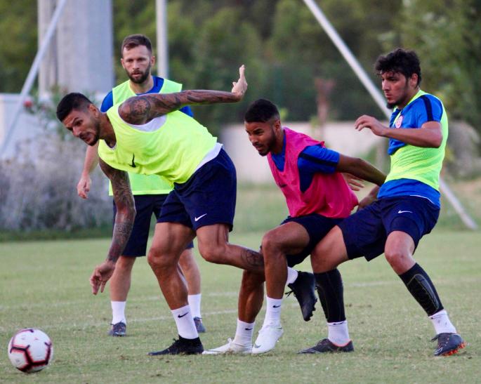 Antalyaspor Kayserispor Maçının Taktiğini Çalıştı