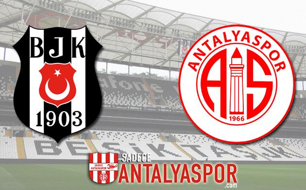 Beşiktaş – Antalyaspor (MAÇ KADROSU)