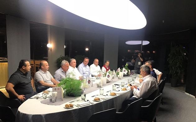 Beşiktaş Kulübünden Yöneticilere Dostluk Yemeği