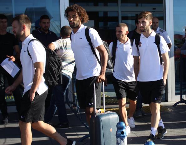 Antalyaspor Kayseri'ye Ulaştı