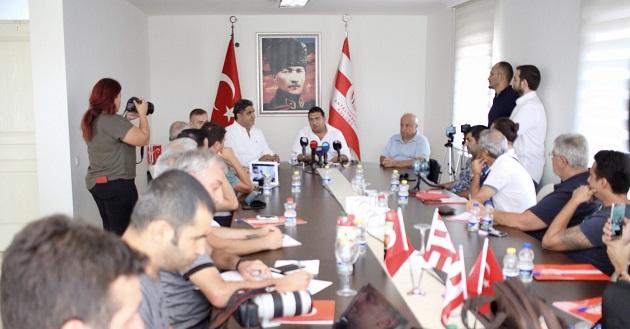 Başkan Ali Şafak Öztürk'ten Transfer Dönemi Açıklaması