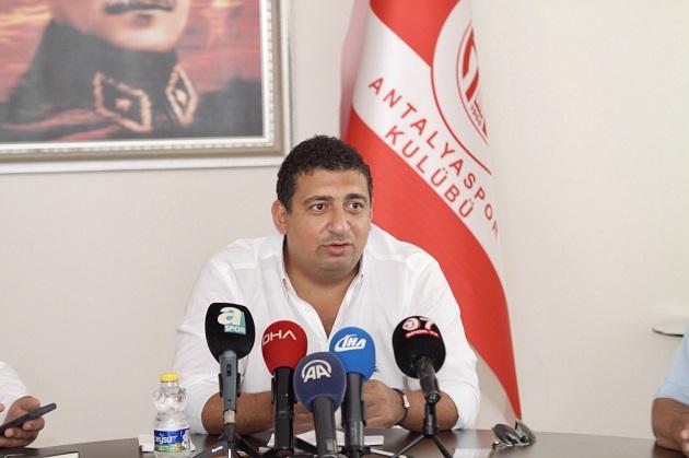 Ali Şafak Öztürk Basın Toplantısı Yaptı