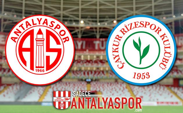 Antalyaspor – Çaykur Rizespor (MAÇ KADROSU)