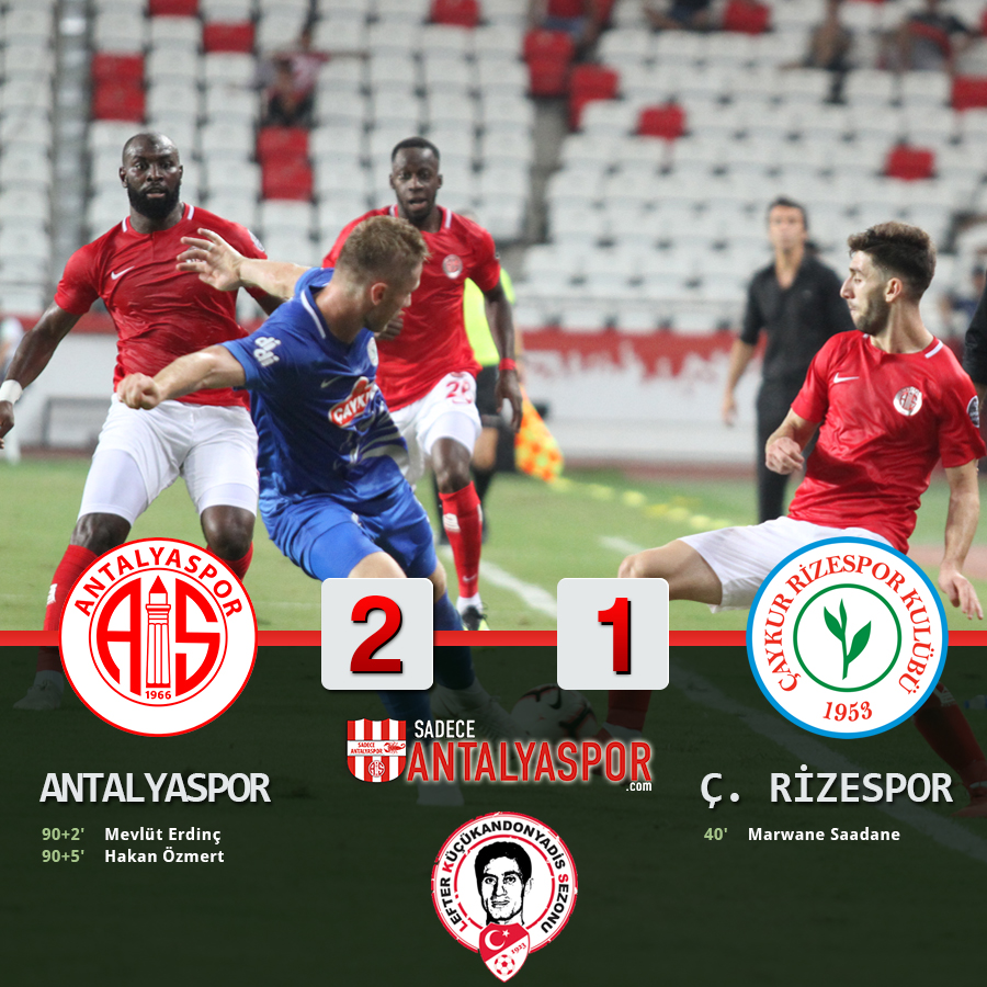 Antalyaspor 2 – 1 Çaykur Rizespor