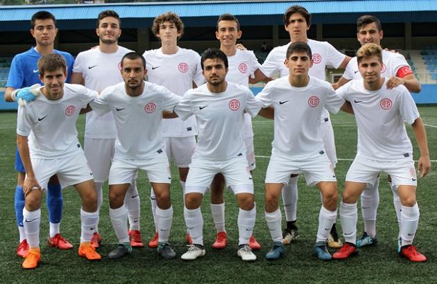 Antalyaspor U19 Kaybetti, U17 Berabere Kaldı
