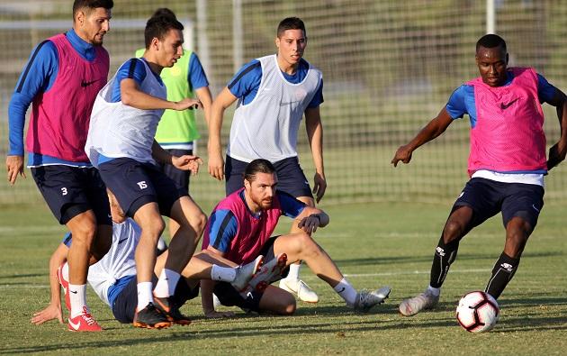 Antalyaspor'da Sivasspor Hazırlıkları Devam Ediyor