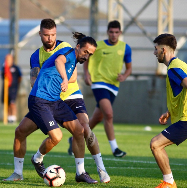 Antalyaspor Son Antrenmanını Yaptı