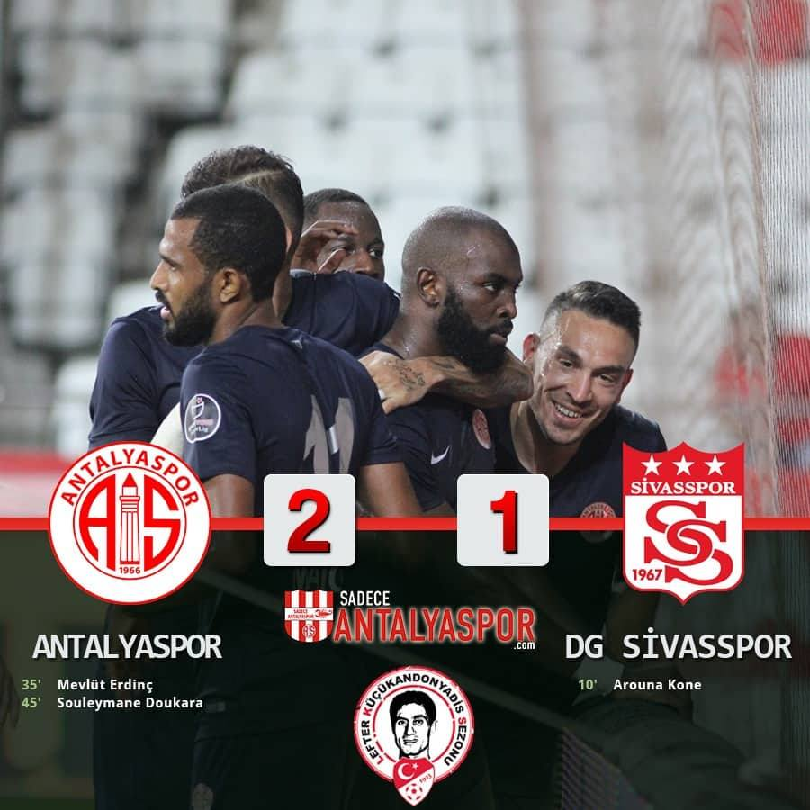 Antalyaspor 2 – 1 Demir Grup Sivasspor