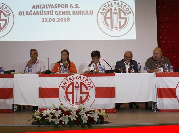 Antalyaspor'da Yeni Yönetim Kurulu Belli Oldu