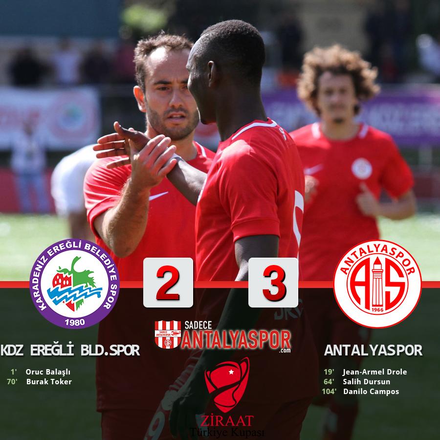 Karadeniz Ereğli Belediyespor 2 – 3 Antalyaspor