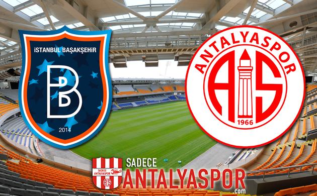 Medipol Başakşehir – Antalyaspor (MAÇ KADROSU)
