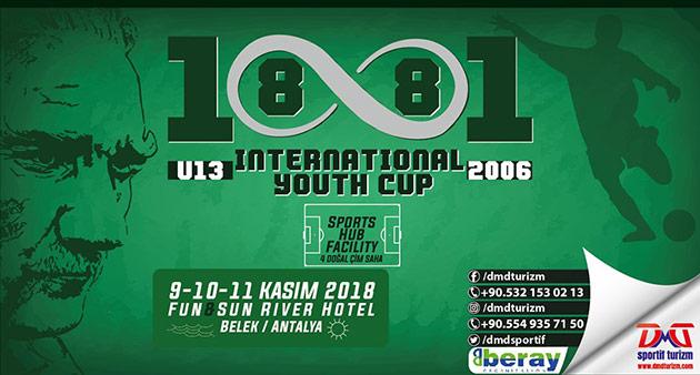 Antalyaspor U13 Takımı, International 1881 Youth Cup'a Katılacak