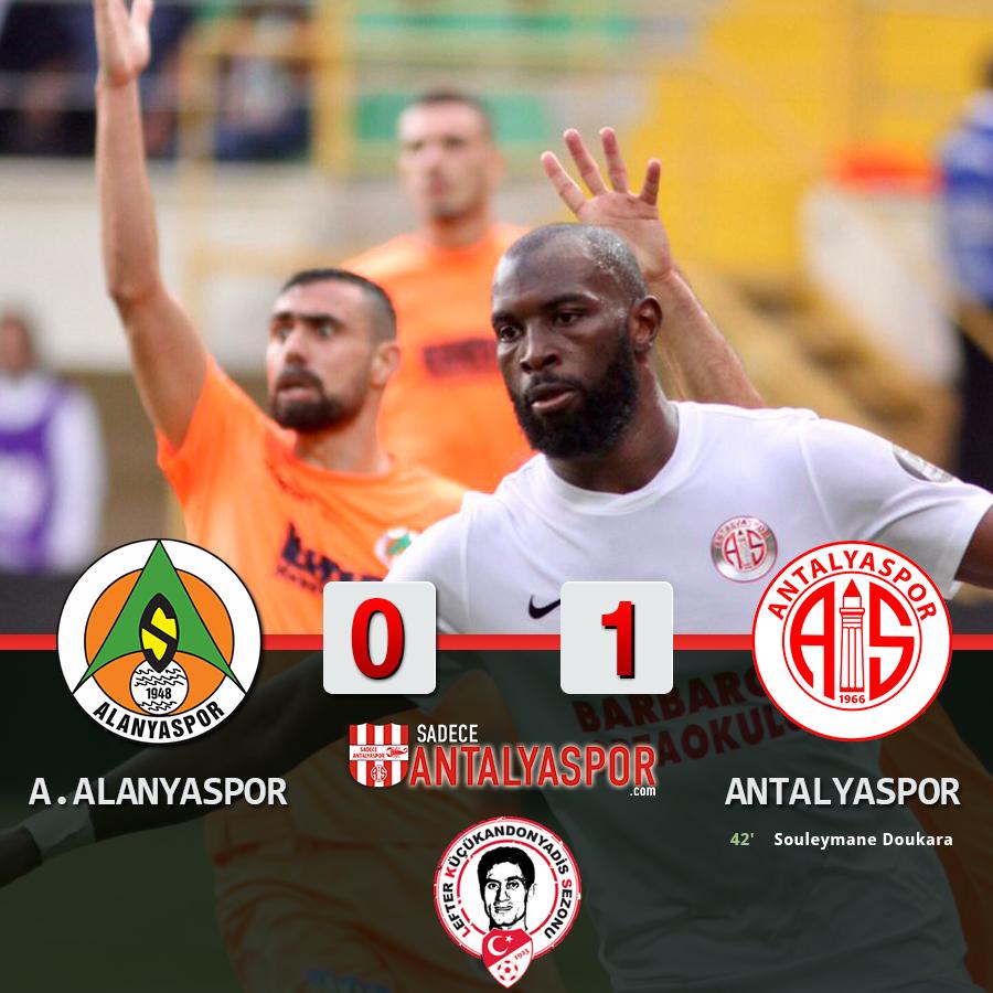 Aytemiz Alanyaspor 0 – 1 Antalyaspor