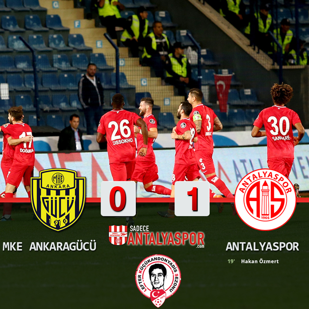 MKE Ankaragücü 0 – 1 Antalyaspor