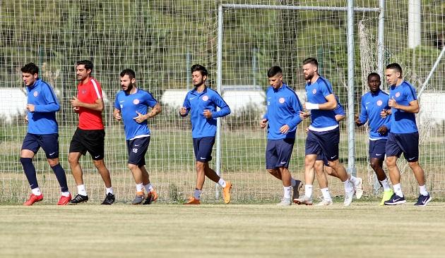 Antalyaspor'da Rota Kasımpaşa