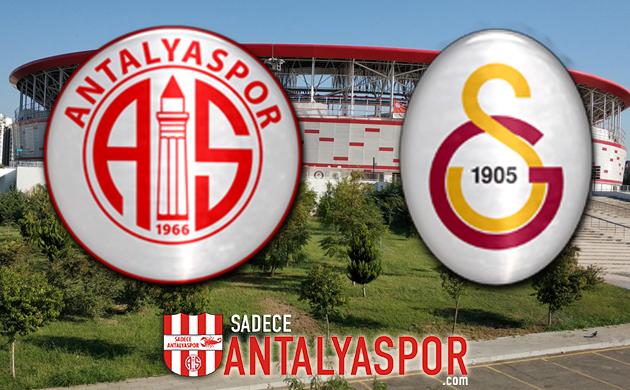 Antalyaspor – Galatasaray (MAÇ KADROSU)