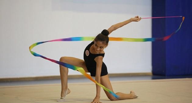 Ritmik Cimnastik Takımı, Federasyon Kupası'na Katıldı