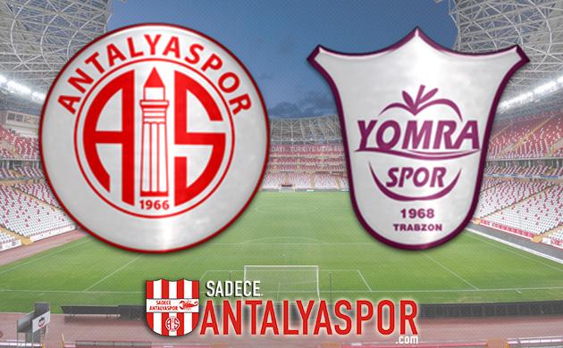 Antalyaspor – Yomraspor (MAÇ KADROSU)