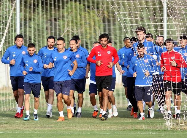 Antalyaspor'da Alanyaspor Hazırlıkları Başladı
