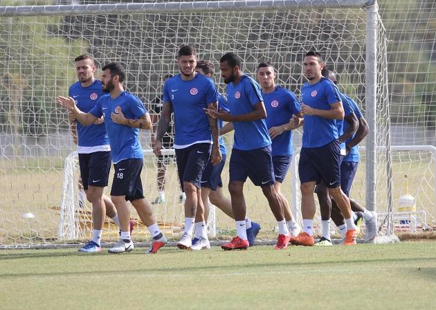 Antalyaspor'un Trabzonspor Hazırlıkları Sürüyor