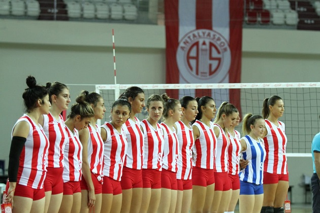 Antalyaspor Voleybolda Play-off'u Hedefliyor