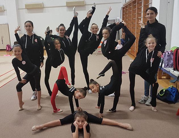 Ritmik Cimnastik Takımı Federasyon Kupası'na Katılıyor