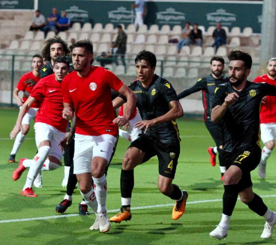 Antalyaspor Hazırlık Maçında Yenişemedi: 1-1
