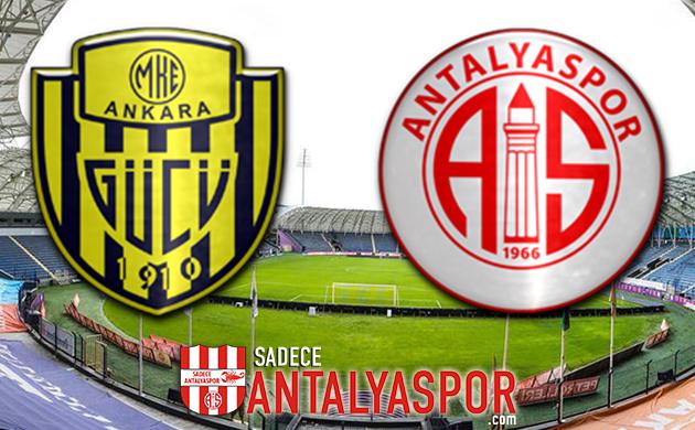 MKE Ankaragücü – Antalyaspor (MAÇ KADROSU)