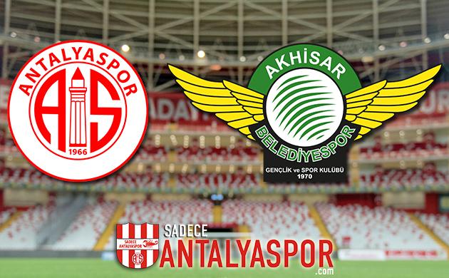 Antalyaspor – Akhisarspor (KADROLAR)