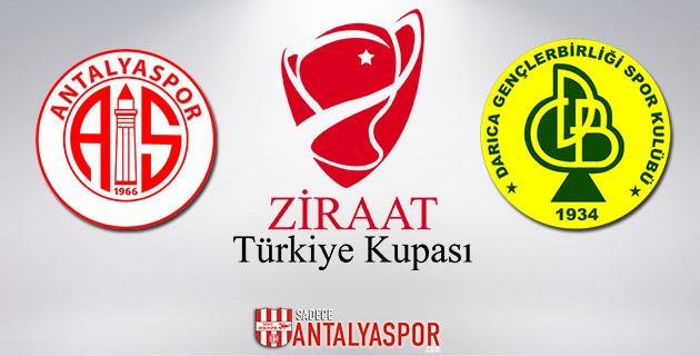 Antalyaspor'un Kupadaki Rakibi Belli Oldu