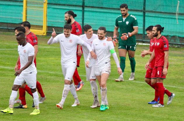 Antalyaspor Afganistan'ı Kaptanıyla Yendi: 1-0
