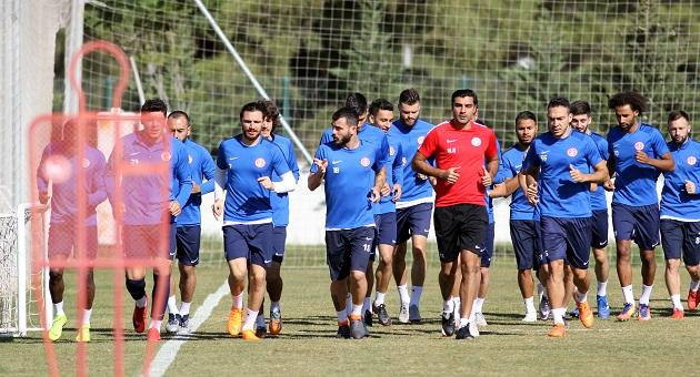 Antalyaspor'da Akhisarspor Hazırlıkları Başladı