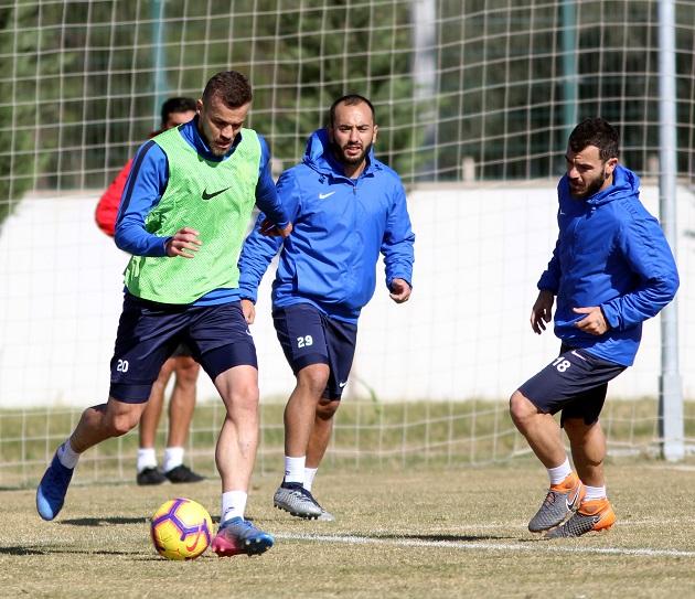 Antalyaspor'un Milli Aradaki Çalışmaları Başladı