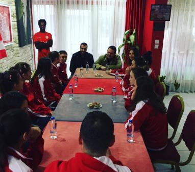 Antalyaspor Voleybol Takımı'ndan 07 Gençlik'e Ziyaret