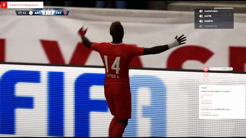 Antalyaspor'dan Bir Galibiyet Bir Mağlubiyet
