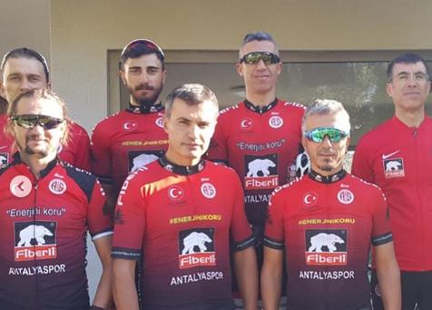 Antalyaspor Çeşme'de Kürsüye Çıktı