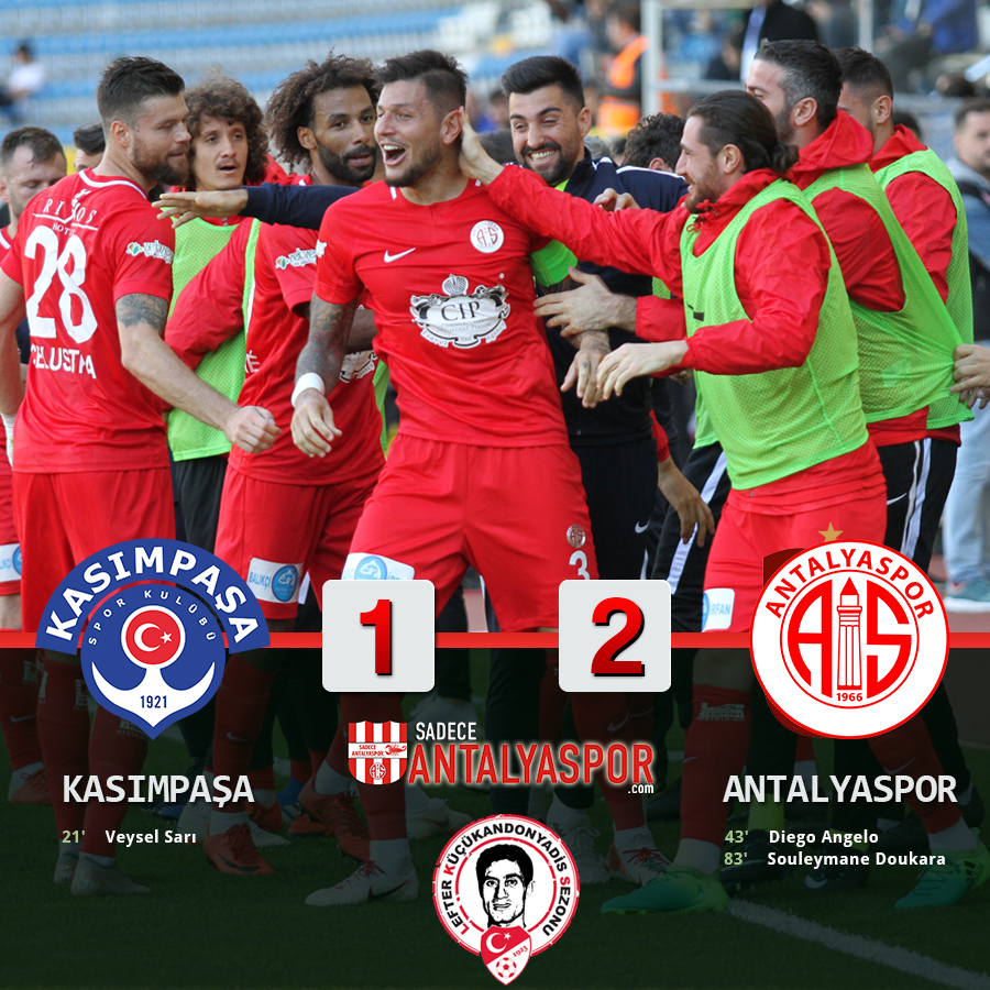 Kasımpaşa 1 – 2 Antalyaspor